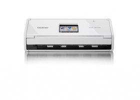 Scanning side for Brother ds 920dw wireless duplex mobile color page scanner white