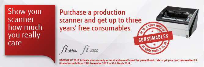 Fujitsu free consumables offer